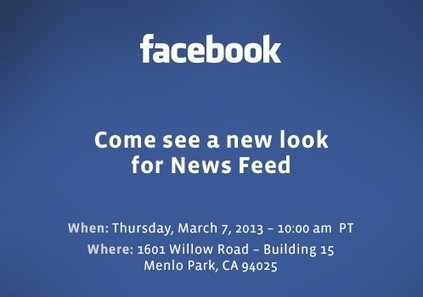 POLL: What Is Facebook's 'New Look For News Feed?' - AllFacebook | Digital-News on Scoop.it today | Scoop.it