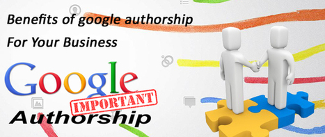 Benefits of Google Authorship for Your business | Ecommerce Website Development Services | Scoop.it