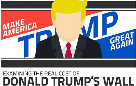 Examining the Real Cost of Donald Trump's Wall - Cool Infographics | World's Best Infographics | Scoop.it