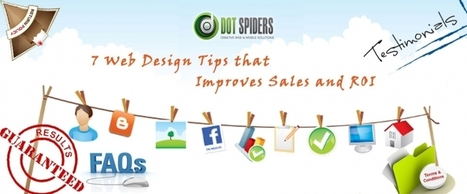 7 Web Design Tips that Improves Sales and ROI | What is Search Engine Optimization? | Scoop.it