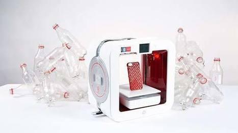 EKOCYCLE: la stampante 3D che ricicla bottiglie di plastica | Tutto3D.com | Scoop.it