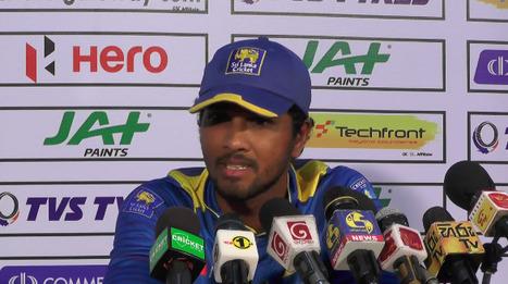 (Video) 'We didn't click as a batting unit throughout the ODI series' - Chandimal | Sri Lanka Cricket | Scoop.it