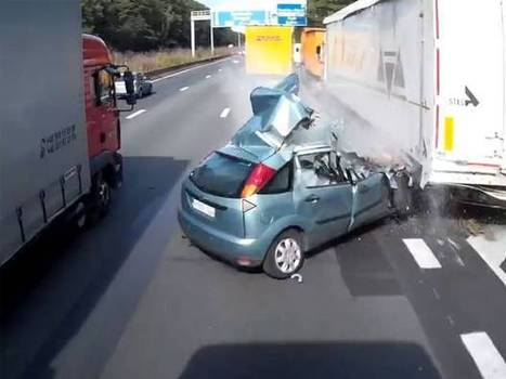 Driver in Belgium survives the most deadly of crashes | LibertyE Global Renaissance | Scoop.it
