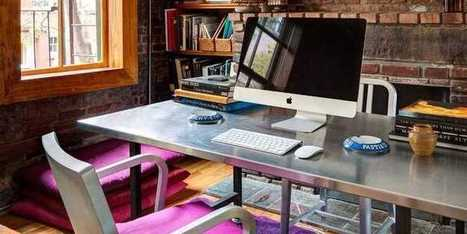 These 13 Gorgeous Workspaces Will Convince You To Ditch The Office And Work From Home | Women in Business | Scoop.it