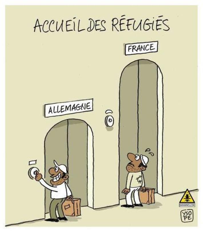 Accueil des réfugiés   Baie d'humour   Scoop.it
