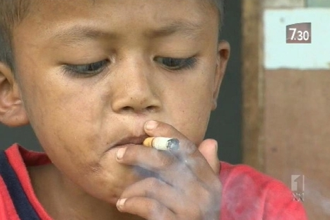 Child smokers prompt Indonesia legal case | Global Health HH330 | Scoop.it