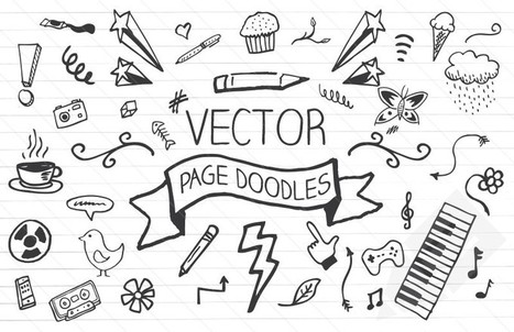 Vector Page Doodles : Medialoot | Photoshop Tutorials | Scoop.it