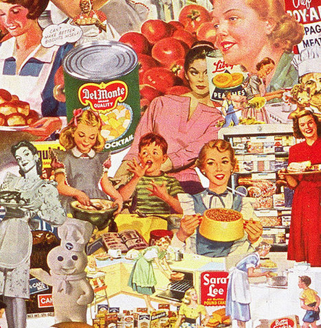 Media Made Women | | Sally Edelstein Collage | DEFROSTING THE COLD WAR | A Cultural History of Advertising | Scoop.it
