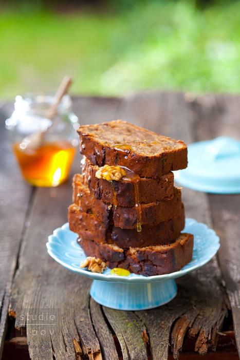 Chlebek z cukinii z orzechami | Kulinaria | Scoop.it