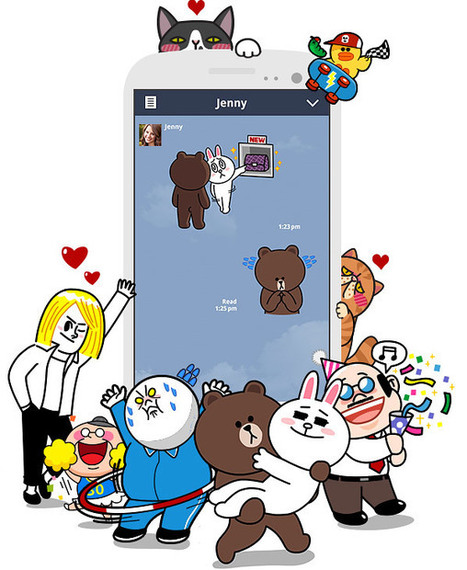 LINE : Free Calls & Messages | Tablet opetuksessa | Scoop.it