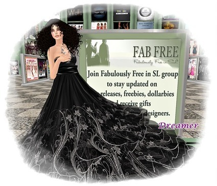 Dreamer's Virtual World: Be Fabulous for Free | Freebies and cheapies in second life. | Scoop.it