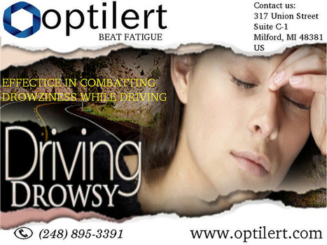 Alertness To Overcome Drowsy Driving By Optilert | Keeping Awake While Driving | Scoop.it