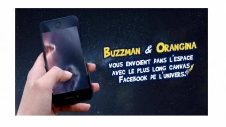 Buzzman invente le plus long Canvas Facebook pour Orangina | Media sociaux : what's new? | Scoop.it
