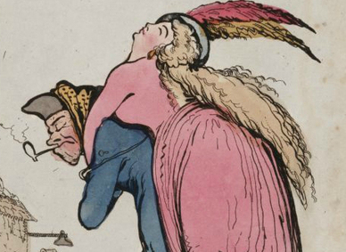 """""""Stick Close, My dear...Hold up your head, my Lily of the Valley""""...Why drunk women don't make good sweethearts, 1795 