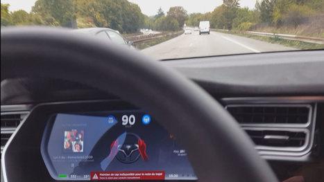 Vous conduisez sans les mains? Votre Tesla vous prive de conduite autonome | Médiations numérique | Scoop.it