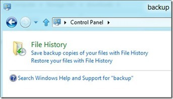 Backup and file history in Windows 8 Consumer Preview: a million options to confuse you | Windows Infrastructure | Scoop.it