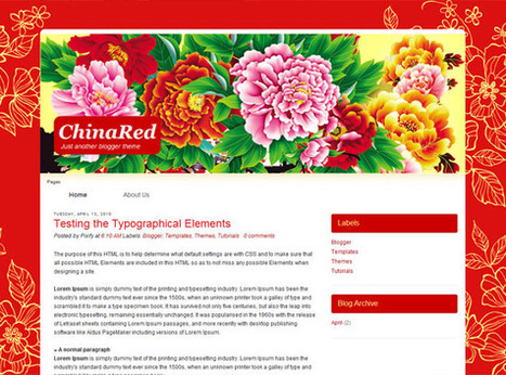 China Red | Ngoding | Blogger themes | Scoop.it