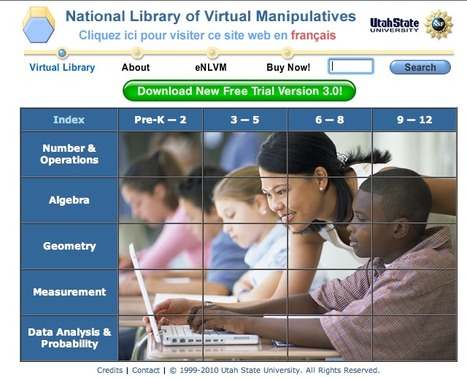 National Library of Virtual Manipulatives | K-12 Math and Science | Scoop.it
