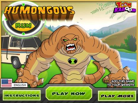 Humongous Run - Play Your Best Ben 10 Games   Ben 10 Games   Spiderman Games   Scoop.it
