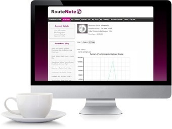 RouteNote Upgrades to Version 2.0 | Web and Social Media | Scoop.it