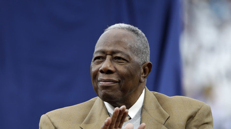 Baseball Great Hank Aaron Flooded With Racist Hate Mail After Defending Obama | Daily Crew | Scoop.it
