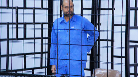 Gaddafi's son Saif, Libya's former heir apparent, released – lawyer | Saif al Islam | Scoop.it