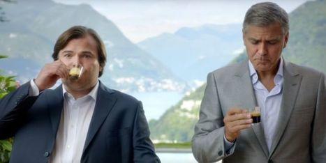 Pub Nespresso : Jack Black saoule George Clooney avec ... | Histoires de capsules café | Scoop.it
