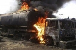 Tragic: Tanker driver burnt to death in road accident   AnthoniaOrji   Scoop.it