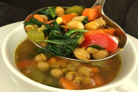 Ayurvedic Minestrone [Vegan, Gluten-Free]   My Vegan recipes   Scoop.it