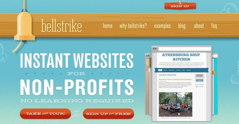 Instant Websites for Nonprofits | Communication for Development (ComDev) | Scoop.it