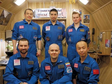 6 Guys in a Capsule: 520 Days on a Simulated Mars Mission | Space matters | Scoop.it