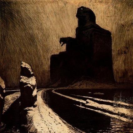 fmeris:  Frantisek Kupka - The Black Idol (Resistance), 1903