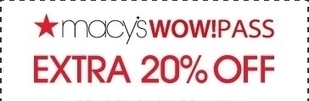 Macy's Extra 20% Off Coupon 3/30/2014 | Discount Coupons | Scoop.it
