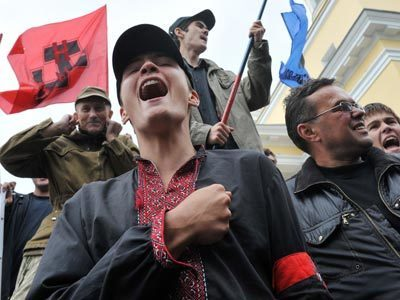 Ukrainian nationalists bring nuclear arms to election fight — RT | The Indigenous Uprising of the British Isles | Scoop.it