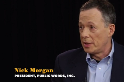 Podcast: Nick Morgan's Power Cues | Top of Mind Awareness | Scoop.it