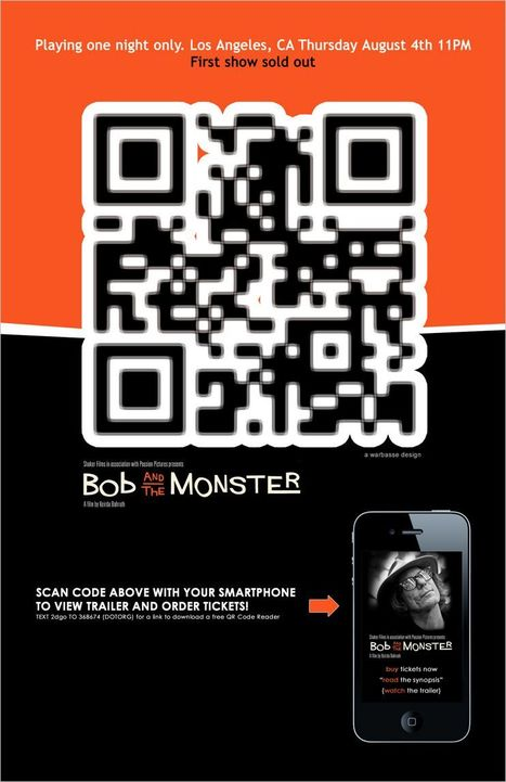 Movie Posters And QR Codes | QRiousCODE | Scoop.it