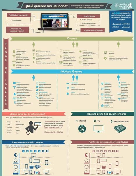 ¿Qué es lo que quieren los usuarios en la web? Infografía | Revista InformaBTL: Promociones, Activaciones y Below the Line | Mercadotecnia interactiva | Publicidad | Scoop.it