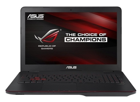 "ASUS ROG GL551JM-DH71 15.6"" Gaming Laptop w/ GeForce GTX 860M 2GB-GDDR5 with Optimus Technology 1TB 7200RPM HDD 