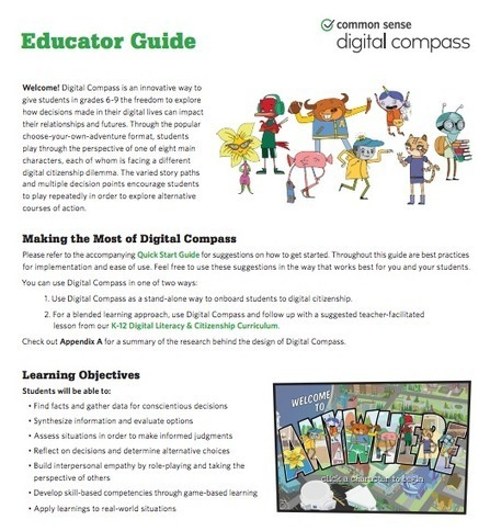 The Library Voice: Digital Compass....A Brand New Way To Teach Digital Literacy and Citizenship To Our Kids! | Parenting in the new digital age | Scoop.it