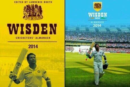 Sachin Tendulkar graces cover of Wisden Cricketers' Almanack - Latest Sports Buzz | Sandhira Sports | Scoop.it