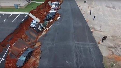 Un socavón se 'traga' quince coches en Estados Unidos   Diari de les CIÈNCIES DE LA  NATURALESA   Scoop.it