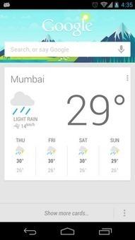 Shardul Prabhu: Google Now Cards Layout   Smartphone News By Sachin Shelke   Scoop.it