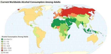 How Alcohol is Consumed Around the World - Laughing Squid | wines and spirits | Scoop.it
