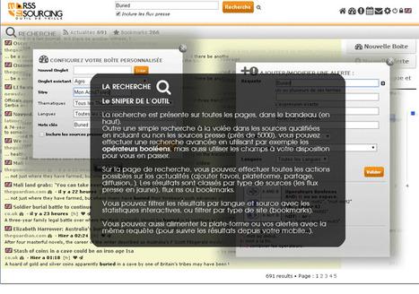 Nouvelle interface pour RSS Sourcing (plate-forme de veille en mode SaaS de Viedoc) | RSS Circus : veille stratégique, intelligence économique, curation, publication, Web 2.0 | Scoop.it