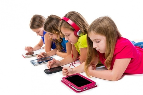 Kids spend 6.5 hours a day in front of a TV, gaming console, smartphone, computer, tablet | mlearn | Scoop.it
