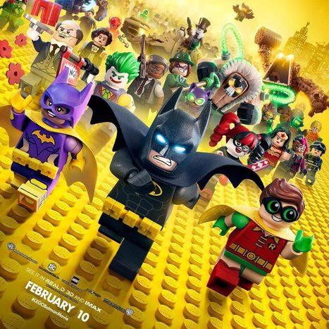 LEGO Batman – Le film : Un nouveau poster avec... tout le monde ! | Superheroes & Supervillains | Scoop.it