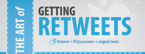 Art and Science of Earning Retweets [Infographic] | Social Marketing Revolution | Scoop.it
