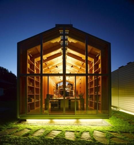 Nobis house, une maison en bois esprit hangar à bateau | Architecture pour tous | Scoop.it