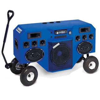 The Mobile Blastmaster - Hammacher Schlemmer | DJ Equipment | Scoop.it