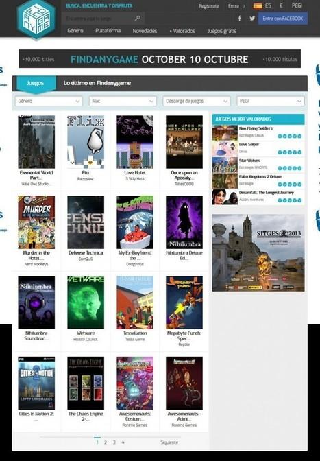 Findanygame, la nueva plataforma para descargar videojuegos | Desarrollo de Apps, Softwares & Gadgets: | Scoop.it